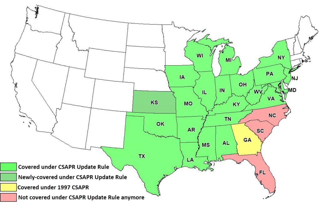 csapr map